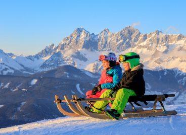 Wintersport wird großgeschrieben...